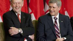 Harper Gives Chrétien A New