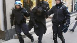 Une centaine d'arrestations à la manif de la