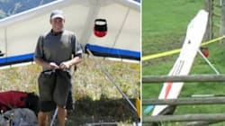 Hang Glider Pilot Co-operating, Says