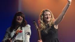 Photos: Les sœurs Boulay, grandes gagnantes des Francouvertes