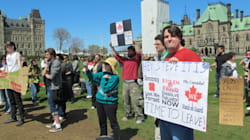 Parliament Hill Protesters Demand Public Inquiry Into