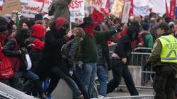 10 ans de prison pour les manifestants