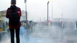 Émeute à Victoriaville : une manifestante blessée poursuit la Sûreté du