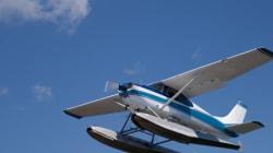 Float Plane Crashes Near Peachland,