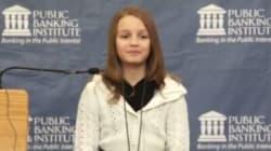 À 12 ans, elle fait la morale aux grandes