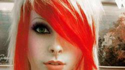 La frange et la coupe de cheveux emo: de graves risques pour les yeux
