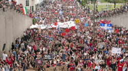 HUGE Protest In Montreal As Demonstrations Go