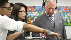 WATCH: Prince Charles Doesn't Let The Beat