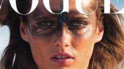 Des rides sur la couverture de Vogue: on