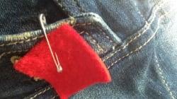 Le carré rouge suit Jean Charest au