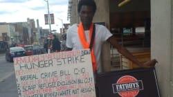 Il fait la grève de la faim depuis plus de 80