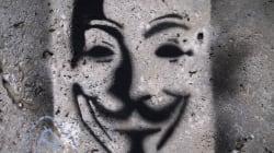 Anonymous pirate une fois de plus le site du