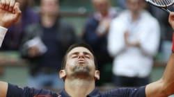 Roland Garros: Djokovic à la