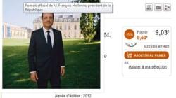 Ristourne sur les portraits de Sarkozy et