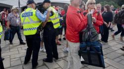 De nombreux policiers pour le Grand