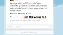 La femme de Hollande soutient l'adversaire de Ségolène
