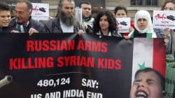 Siria usa a niños como escudos