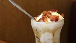 Crème glacée au bacon disponible partout aux