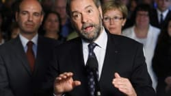 Mulcair's 34-Point
