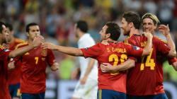 Victoire de l'Espagne, la France