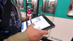 Après le WiFi, la 3G dans le métro