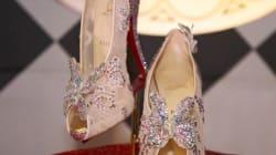 La chaussure de Cendrillon par Christian