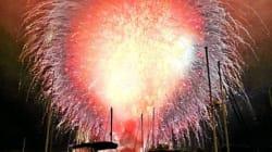 Tous les feux d'artifice lancés au même