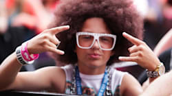 «Party Rock» multicolore sur les