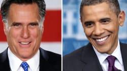 Obama et Romney au