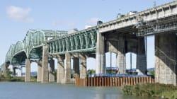 Début des travaux sur le pont