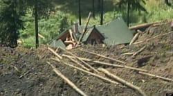 Thieves Break Into Landslide Victims'