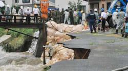 Japon: les habitants du sud inondé guettent l'arrivée d'un typhon
