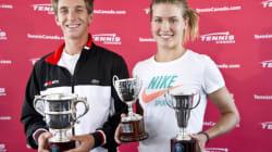 Bouchard et Peliwo sont prometteurs pour l'avenir du tennis