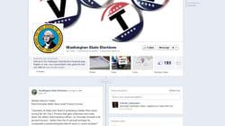 Dans l'État Washington, les électeurs s'inscrivent sur les listes via