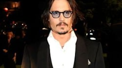 Johnny Depp chez Wes
