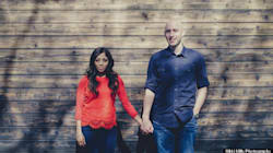 These Vintage Style Engagement Shots Up The Pre-Wedding Photo