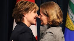 Christy Clark And Alison Redford At War Over