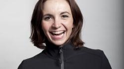 Audrey Lacroix, membre de l'équipe canadienne de