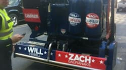 Will Ferrell, Zach Galifianakis Visit Hockey Hall Of Fame In Zamboni