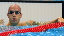 Le Canadien Brent Hayden remporte la médaille de bronze en finale du 100m