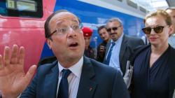 François Hollande et Valérie Trierweiler partent à Brégançon en
