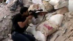 La ville syrienne d'Alep entre pilonnage et