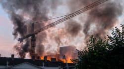 Violent incendie dans un magasin H&M de