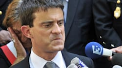 Valls hué lors de son arrivée à