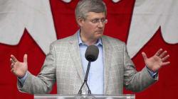 L'absence de soutien d'Harper fait baisser son