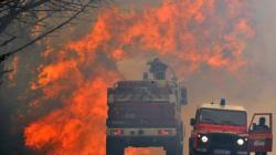 L'incendie de Lacanau est