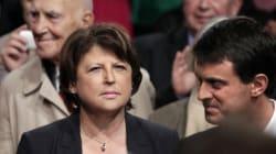 Aubry en colère contre Valls, écourte ses