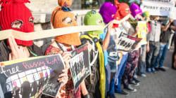 La Russie critiquée internationalement après la condamnation des Pussy Riot