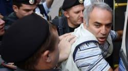 Kasparov, soutien des Pussy Riot, risque cinq ans de