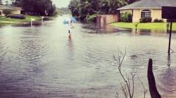 L'ouragan Isaac vu par les internautes du